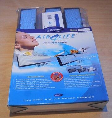 Carrier 42PW9103 Kit met 6 fotokatalytische en elektrostatische filters
