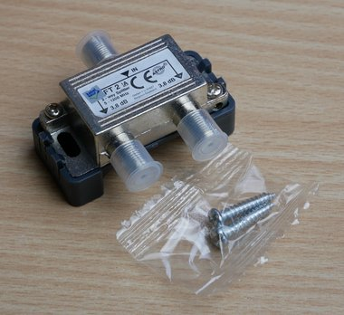 Astro HFT2 tweevoudige verdeler Kabelkeur 106056 (408020)