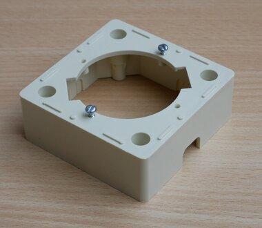 Astro GUS 40 Opbouw rand crème wit voor antenne-aansluiting 610500 (10 stuks)