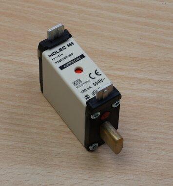 Holec P5GG100-00 smeltpatroon 100A 500V ac 835054 (3 stuks)