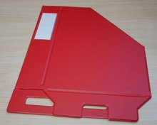 Esselte 56003 Tijdschriftcassette Vivida opvouwbaar rood