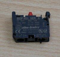 Allen Bradley 800F-X01 Contact Block NC