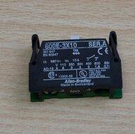 Allen-Bradley 800E-3X10 ser.A contact element NO