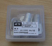TE 3-1377172-5 Aansluitpunten M8 42.6 - 60.6 mm2 (10 stuks)