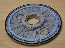 Itho Daalderop 545-2176A branderplaat t.b.v Kli-Max 1 zonder isolatieplaat